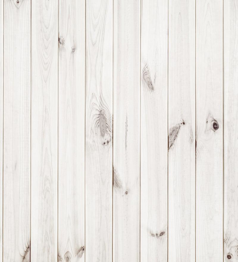 Print A Wallpaper Wood Panels in White Wallpaper by Print