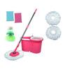 Wonder Pink Light Wheel Spin Mop Set
