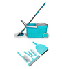 Wonder Multicolour Spin Mop with Home Cleaning Kit