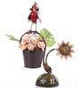 Wonderland Bird with Sunflower & Pot
