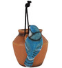 Wonderland Hanging Blue Jay Decorative Planter