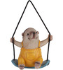 Wonderland Hanging Hedgehog Swing Decoration