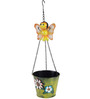 Wonderland Hanging Metal Honey Bee with Pot