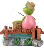 Wonderland Mini Fishing Frog Decor