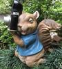 Wonderland Squirrel Taking Photo Solar Light