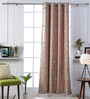 Woodson Pink Cotton 51 x 83 Inch Door Curtains - Set of 2