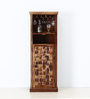 Woodway Bar Unit in Provincial Teak Finish by Woodsworth