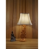 Woody Lamp House White Poly Cotton Table Lamp