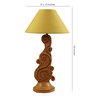 Woody Lamp House Yellow Poly Cotton Table Lamp