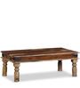 Worcester Coffee Table in Natural Sheesham Finish by Amberville