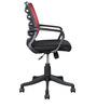 Workstation Ergonomic Chair in Red Colour by Parin