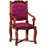 Worrall Arm Chair in Honey Oak Finish by Amberville
