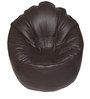 XXXL Bean Bag Sofa (Only Cover) in Brown Colour by Feel Good