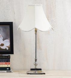 Yashasvi Off-white Poly Cotton Lamp Shade