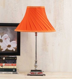 Yashasvi Orange Poly Cotton Lamp Shade