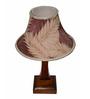 Yashasvi Leaf Brown Wooden Table Lamp