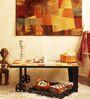 Yatela Coffee Table in Dual Tone Finish by Bohemiana