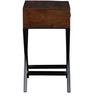 Umaria End Table in Provincial Teak Finish by Bohemiana