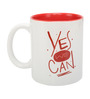 Yes We Can 350 ML Coffee Mug in White Colour by Imagica