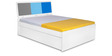 Young America Single Bed in Multicolor by Alex Daisy