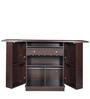 Yoshi Bar Cabinet in Wenge Finish by Mintwud