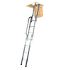 Youngman 3 Section Easiway Sliding Aluminium 10 Steps 9.8 FT Loft Ladder