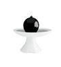 Yuccabe Italia White & Black Polymer Pallina Weather Proof & Unbreakable Fountain