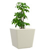 Yuccabe Italia White Gk Polystone Large Size Planter