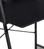 Yumiko Study Table in Black Finish by Mintwud