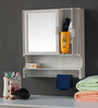 Calgary Bathroom Cabinet in White by CasaCraft