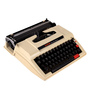 Taggart Typewriter Collectible in Brown by Amberville