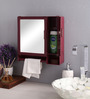 Zahab Bathroom Cabinet -Action(Cherry)