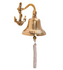 Zahab Gold Brass Antique Ship Hanging Door Bell