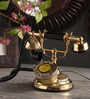 Ableman Retro Telephone in Gold by Amberville