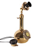 Abollaram Retro Telephone in Gold by Amberville
