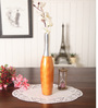 Zahab Orange Aluminium Blan Flower Vase
