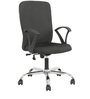 Zecoro Medium Back Office Chair in Black Colour by The Furniture Store
