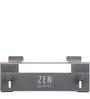 Zen Grid Adjustable Ergonomic Laptop Desk in Metallic Grey Colour by Fitizen