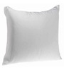Zikrak Exim White Polyester 16 x 16 Inch Floor Cushion Insert