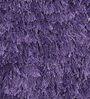 Zila Home Mauve Polyester Shaggy Area Rug