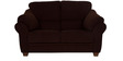 Zurich Delight Two Seater Sofa in Dark Brown Colour by Urban Living