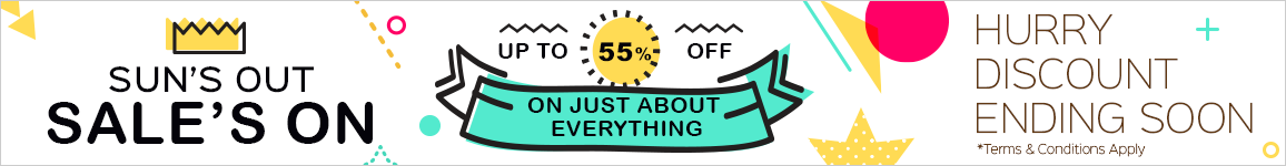 Sun's Out. Sale's On!