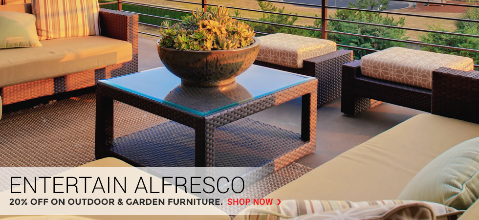 Entertain Alfresco | 20% Off on Outdoor & Garden Furniture