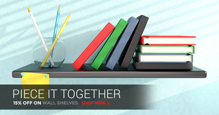 Piece It Together | 15% Off on Wall Shelves