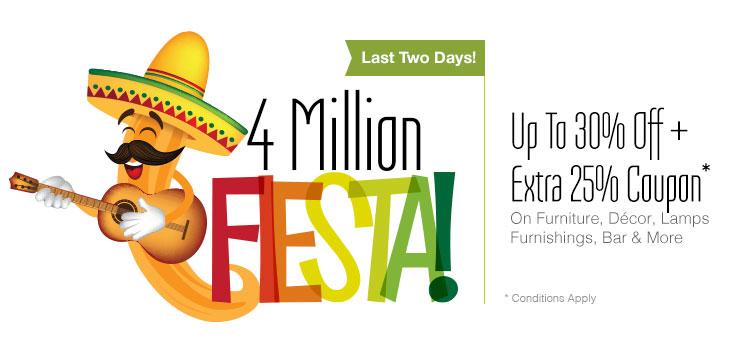 4 Million Fiesta