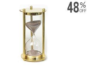 Variety Arts Brass Sand Timer