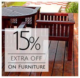15% Extra Off On Furniture